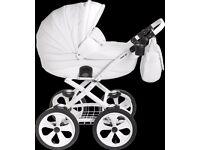 Mee-Go Milano Classic - White Chassis