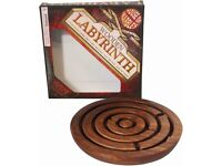 House of Marbles Wooden Labyrinth Game **new sealed unused**