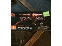 RBX arm exercise weights 5lb