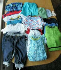 Baby boys clothes bundle 6 to 12 months