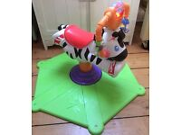 Fisher-Price Bounce and Spin Zebra (RRP £49.99) - Collection ONLY