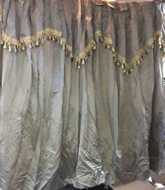 Curtains designer grey