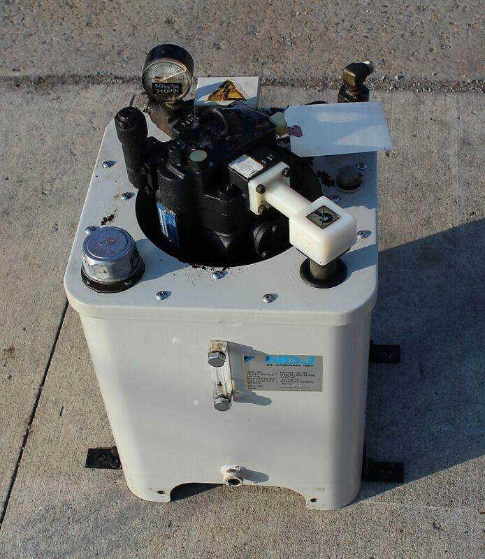 NDJ Hydraulic Unit NDJ159-152-20 PUMP V15A1RX-95S14