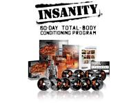 Insanity Work Out DVD Box Set (negotiable Price)