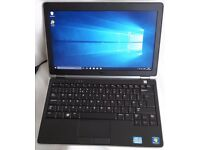 "Dell Latitude E6220 12.5"" Intel i5 4GB 120GB SSD Windows 10 Pro"