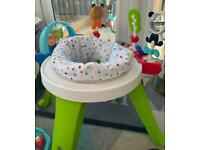 Baby activity chair / table