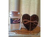 Coffee scented Candle and Soap gift set by Heaven Senses