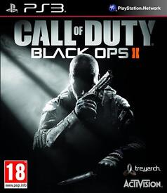 Call Of Duty: Blackops 2 PS3 Game