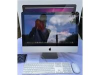 Apple iMac 21.5 inch intel i3, 8GB RAM, 1 TB HDD, Boxed, Keyboard and mouse