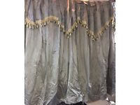 Curtains designer grey