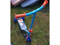 Child's Thomas Scooter
