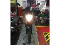 2014 HONDA CBF 125 M-D BLACK