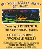 EXCELLENT CLEANING AND IRONING SERVICES