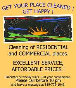 EXCELLENT CLEANING AND IRONING SERVICES Gatineau Ottawa / Gatineau Area image 1