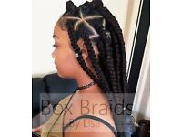 Box braids birmingham | mobile hair braiding birmingham | BraidsByLisa | afro caribbean hairdresser