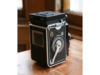 Rolleiflex 3.5F Carl Zeiss Planar 75 mm Lens 6x6 Medium Format