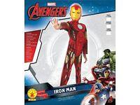 Brand New Never worn Iron Man Costume Age 5-6