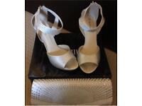 Wedding/Prom shoes & bag