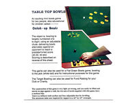 Table Top Bowls
