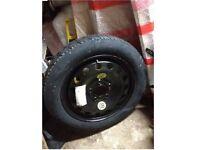 BMW E60 spare wheel