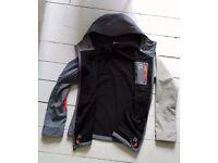 Like new: Armada Hooded Softshell Ski jacket with insulation.