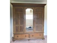 Wardrobe for sale. Solid wood.