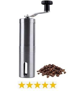 Manual Coffee Bean Grinder - Stainless Steel