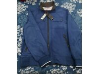 Water proof brand new blue M&S men's jacket