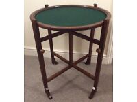Vintage collapsible card table