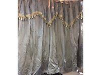 Curtains grey