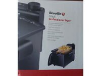 New Breville black professional fryerl