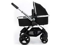 icandy Peach Carry Cot Black