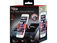 Aduro U-GRIP SWIVEL Universal Smartphone Air Vent Car Mount Holder with 360°