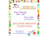 MOTHER, BABY & TODDLER GROUO EVERY THURSDAY