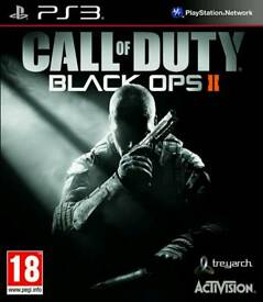Call Of Duty: Black Ops II (18) Gaming /Playstation3 Games