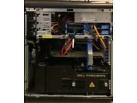 Dell Precision T7400, 2 x Quad Core Xeon 3.00Ghz 12MB Cache, 32GB Ram, Win10 Pro, FREE monitor