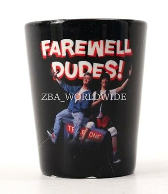 Universal Studios Orlando Halloween Horror Nights 2017 Farewell Dudes Shot Glass - Universal Studio Orlando Halloween Horror