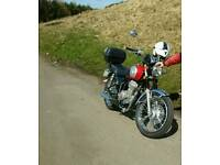 1yr old immaculate Mash motorcycle, low mileage
