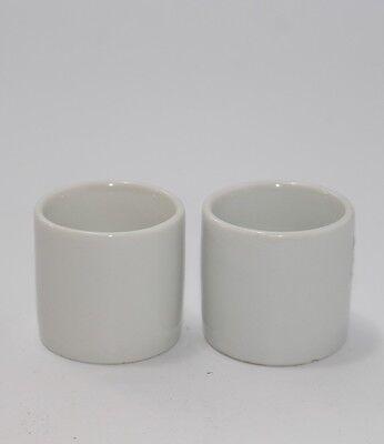 2 ältere Porzellan Tassen Bauscher Weiden für Puppenstube   #J456