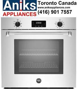 Bertazzoni Master Series MASFS30XV 30in Self Clean Convection Wall Oven Sale$2,999(416) 901 7557