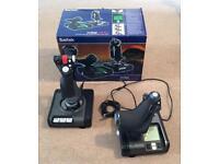 Saitek X52 Pro HOTAS (USB joystick and throttle)