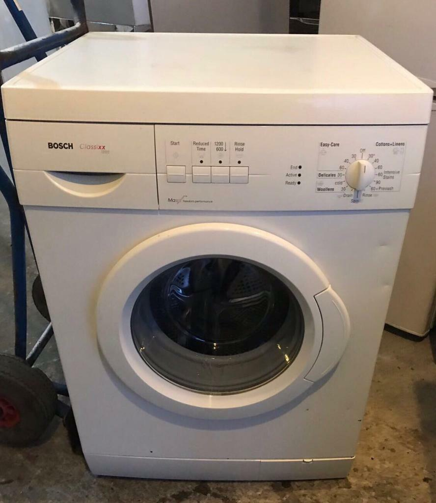bosch classixx 1200 fully working nice washing machine with 4 month warranty in tottenham. Black Bedroom Furniture Sets. Home Design Ideas