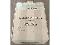 Laura Ashley Artisan French Grey & Eau de Nil Ceramic Tiles