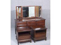 Stag Minstrel Dressing Table Desk and bedsides
