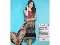 Designer inspired Ready Made Pakistani Salwar kameez Winter suit
