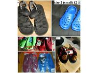 boys shoes size 9- to adult 5.5