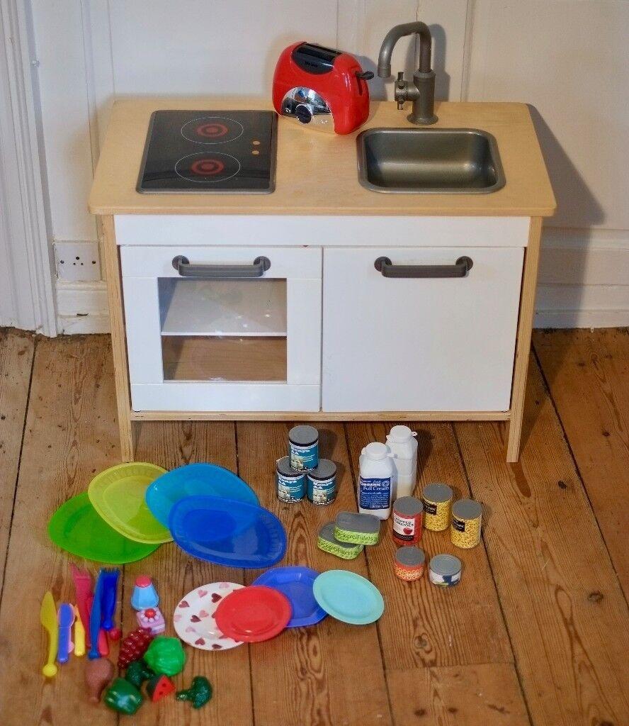 Ikea Kitchen Ads: Ikea DUKTIG Kids Play Kitchen, Plus Play Food, Toaster