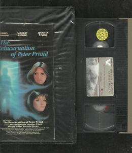 The-Reincarnation-of-Peter-Proud-VHS-1988-VESTRON-HOME-VIDEO-JENNIFER-ONEILL