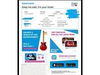 2 Kevin Hart Irresponsible Tour Tickets, Dublin. Tuesday 21/08/18. Block B, row 30, seats 41 & 42.