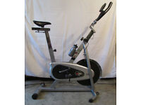 Body Sculpture Exercise Bike, with trip meter for time, speed, distance and calories.